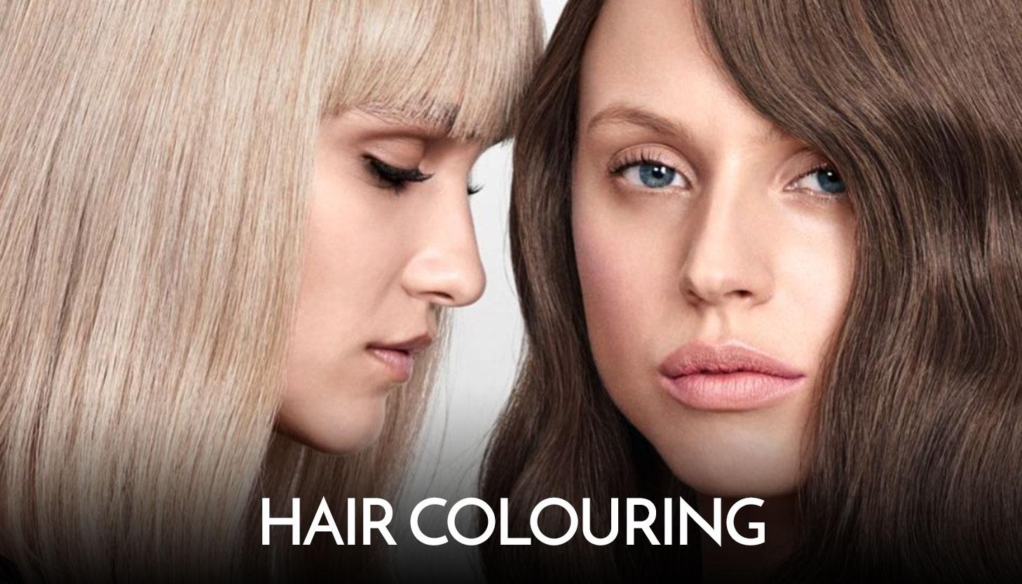 Hair-colouring